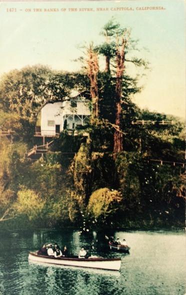 Capitola Lagoon Soquel Creek 1908