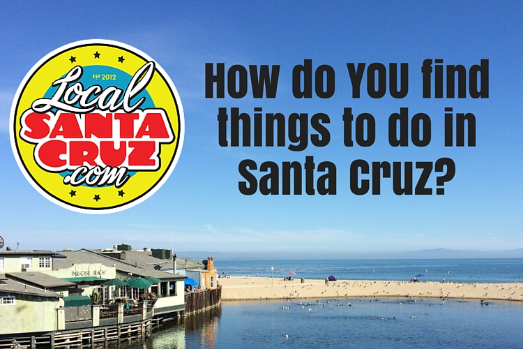 Event Survey Things to do in Santa Cruz