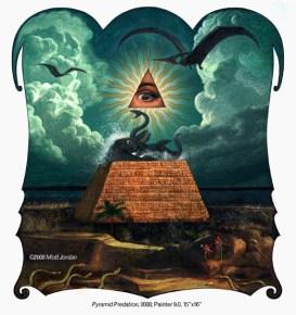 Pyramid Predation