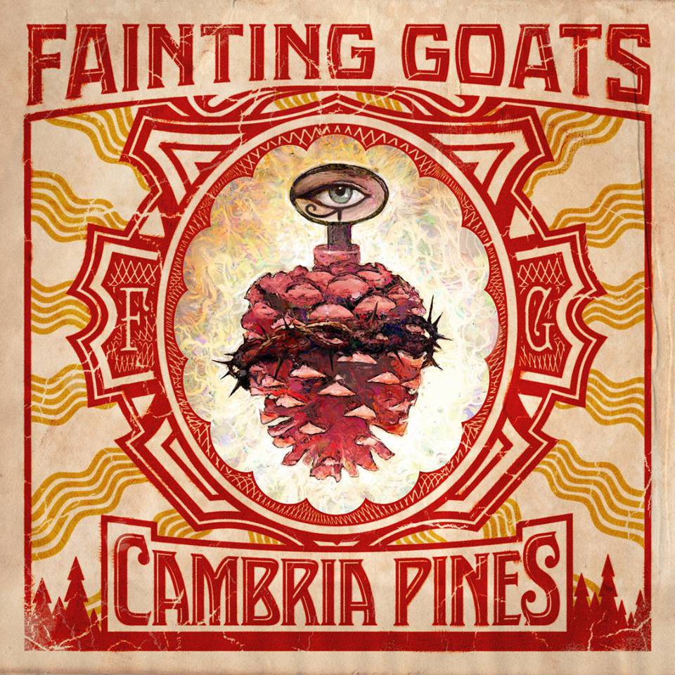 Fainting Goats album cover Cambria Pines