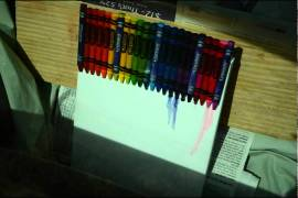 Video : Melting Crayons