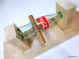 Video: How to Drill a Hole Through a Glass Bottle