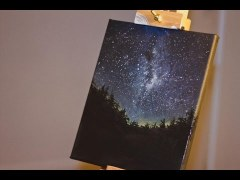 Video : Night Sky Speed Painting