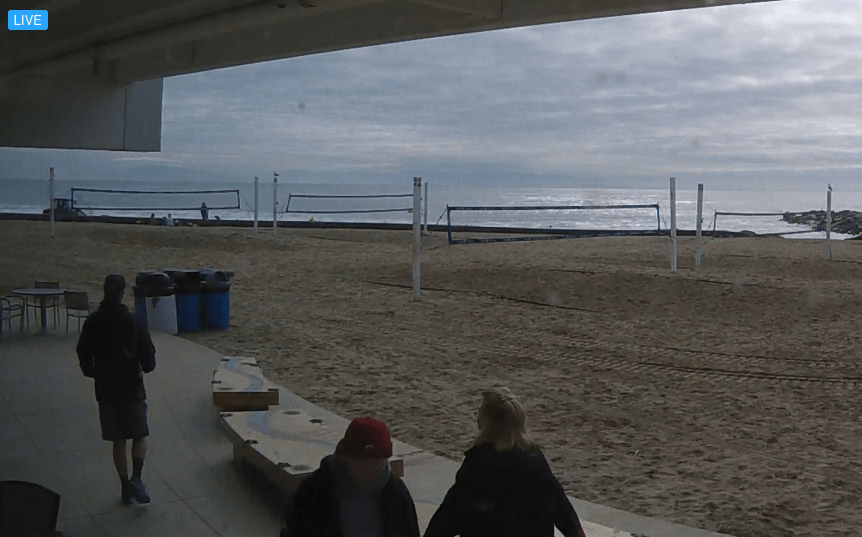 Harbor Beach Volleyball Cam