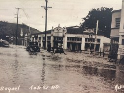 Soquel Village Flood