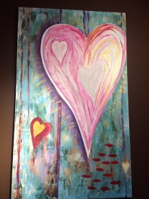 Hearts at Lulu Carpenter's