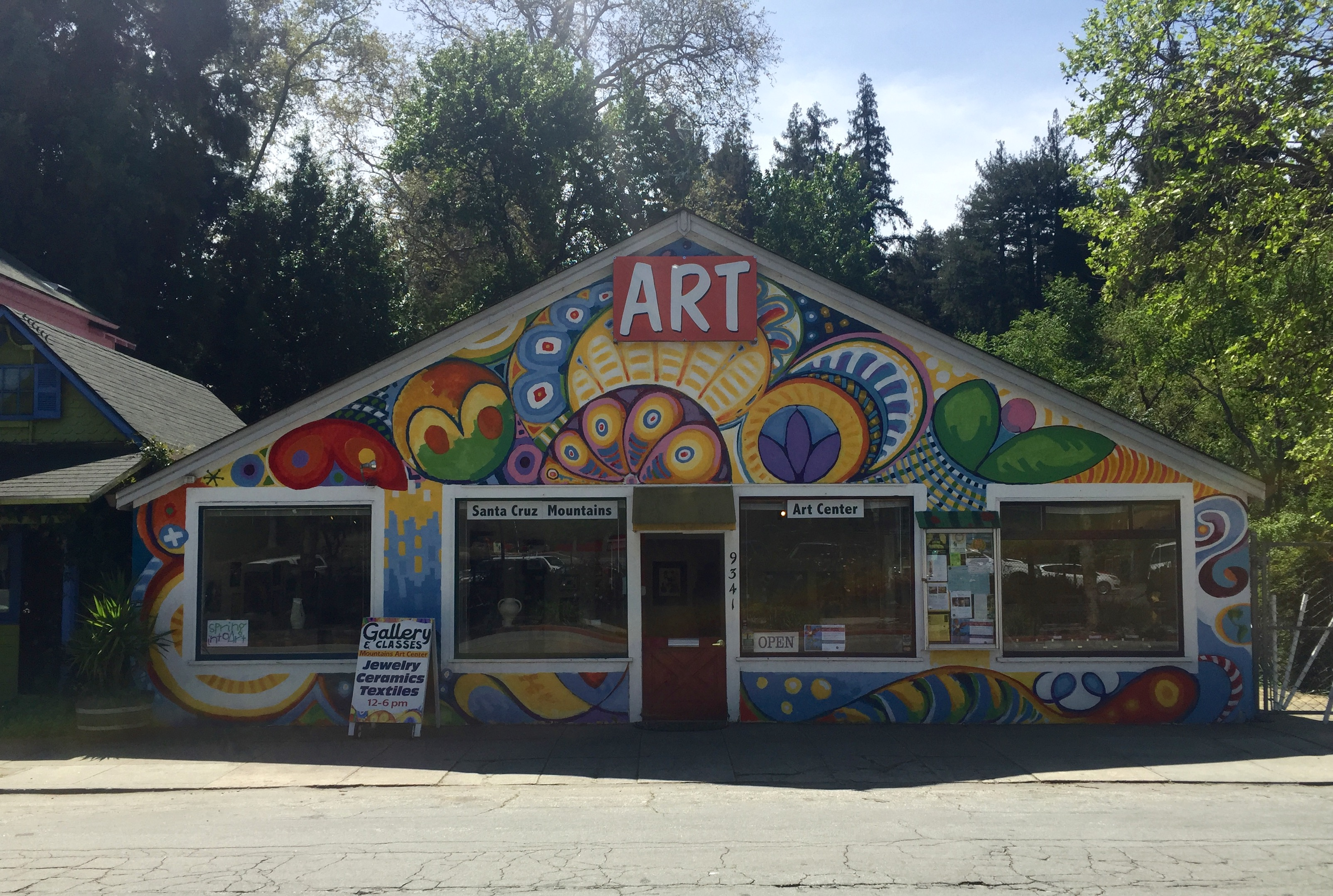 Thomas Gallery at the Santa Cruz Mountains Art Center