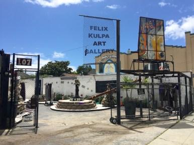 Felix Kulpa Gallery and Sculpture Garden