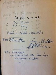 Bob Clanton EL Gato 4-4967