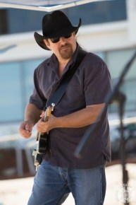 Jim Lewin on guitar and vocals