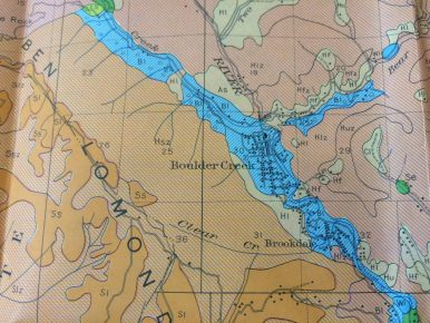 Boulder Creek Map Detail