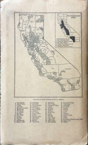 California Map - Soil back cover