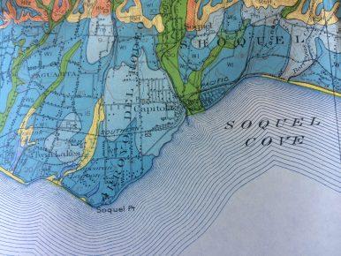 Soquel - Capitola Map Detail