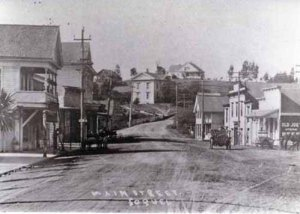 Main street Soquel in 1912.
