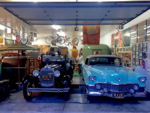 The Ben Lomond museum has vintage trailers, classic cars, and memorabilia.