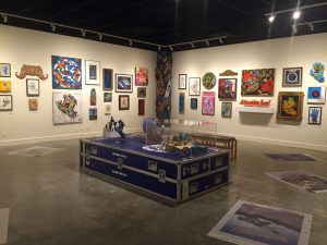 The show is displayed in the Art Forum on the 3rd floor of the MAH.