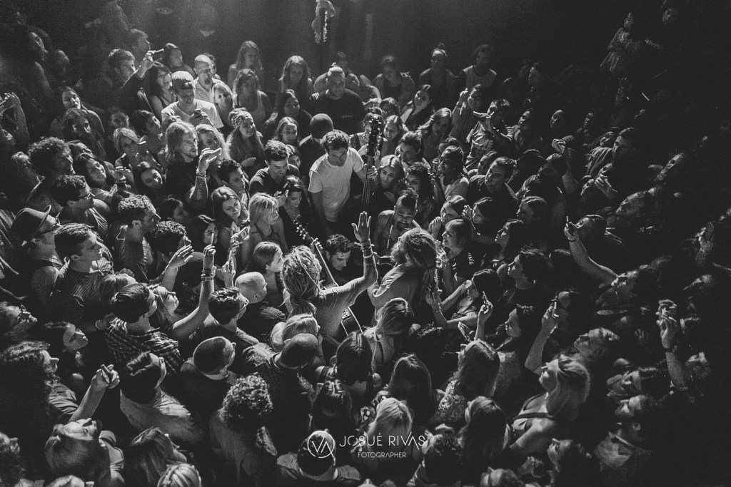 Mike Love in the crowd - Photo by Josue Rivas