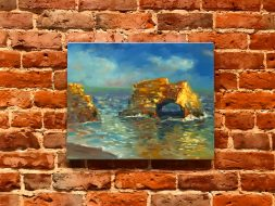 Natural Bridges Painting