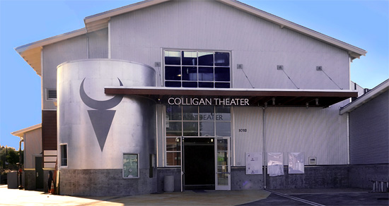 Colligan Theater at the Tannery Arts Center.