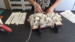 Video: Book Sculpture Time Lapse