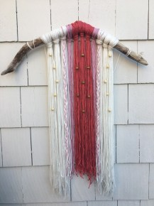 Driftwood and Macrame, by Kelsey Kulbarsh.