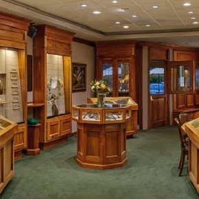 Mark Areais Jewelers Aptos showroom