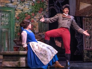 Emily Mairi Marsilia (Belle) and Carmichael James Blankenship (Gaston)