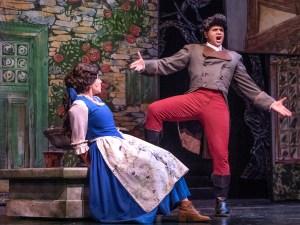 Emily Mairi Marsilia (Belle) and Carmichael James Blankenship (Gaston)