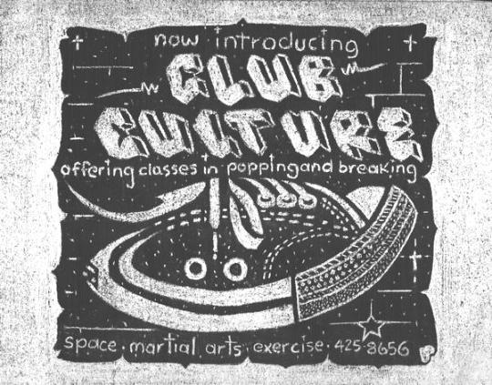 Lee Maverick - Club Culture Sign