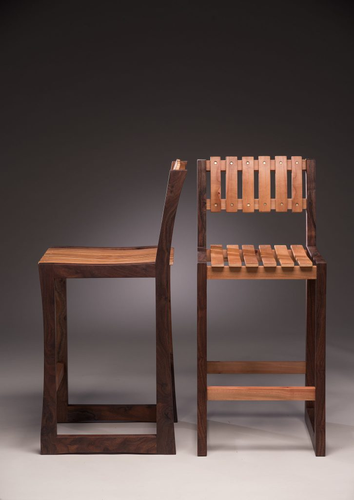 Awesome Joey Kochlacs Madrone And Walnut Featured Series Local Andrewgaddart Wooden Chair Designs For Living Room Andrewgaddartcom