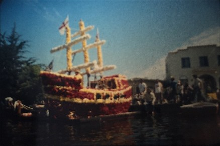 """Begonia Festival Float: """"Shipping Out to Sea"""""""