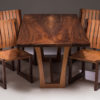 Joey Kochlacs - Walnut and Madrone set/all chairs
