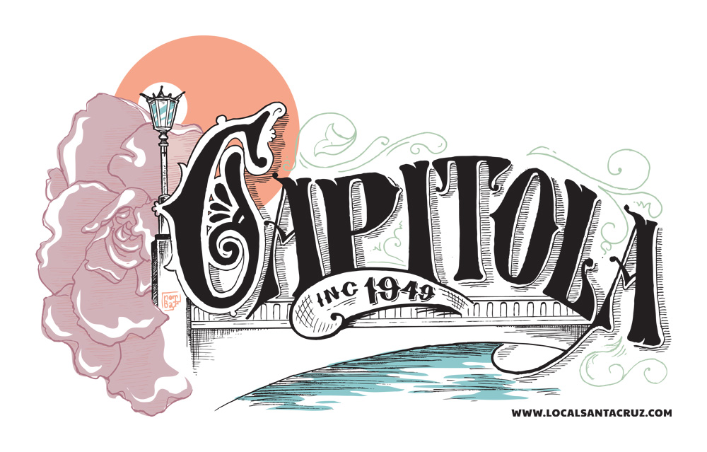 Capitola Victorian Begonia Festival