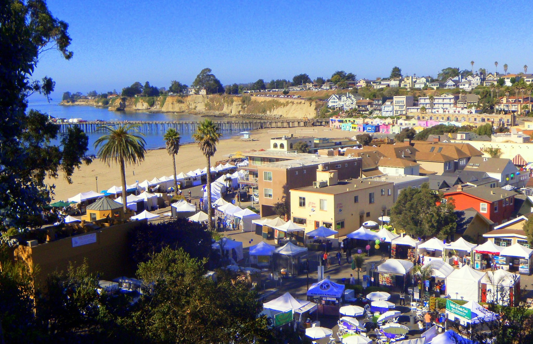 Capitola Art and Wine Festival in Capitola Village