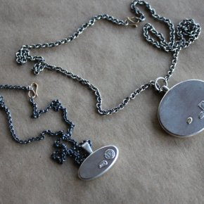 Ingrid Browning LaRiviere - Hollow Form Necklaces