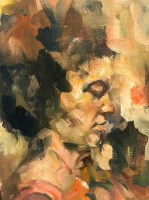 Cellist by Michele Gluvezan-Tanner