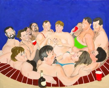 Hot Tub High Jinks by Barry Smith