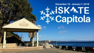 Skate by the Sea on the Capitola Ice Rink