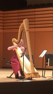 Madeline Jarzembak at the Samper Recital Hall.