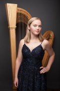 Spotlight on Madeline Jarzembak: Santa Cruz Symphony's Principal Harp