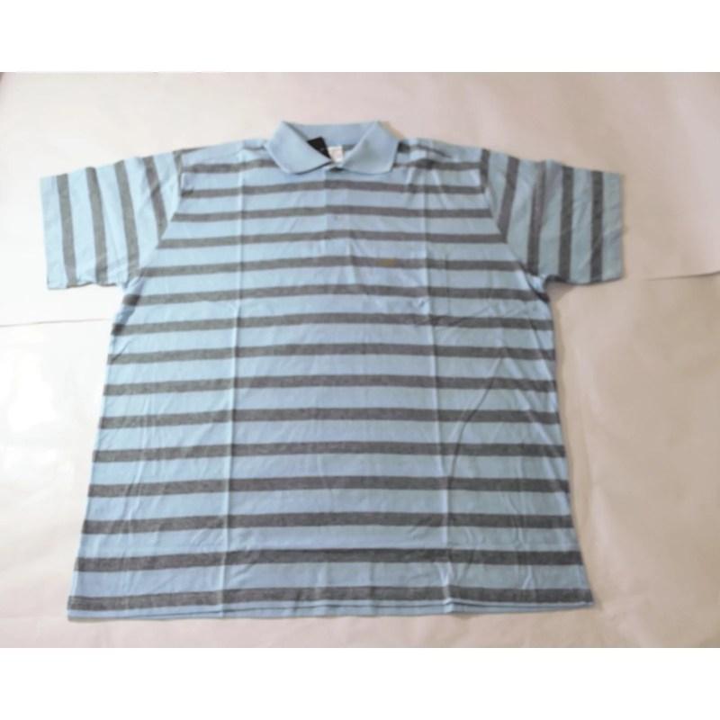 Camisa Gola Polo plus size