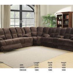 Columbia Large Corner Lounge Suite Recliner Chairs