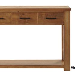 Vincent 3 Drawer Hall Table