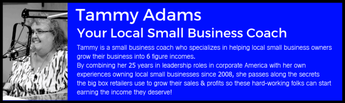 Tammy Adams Local Small Business Coach