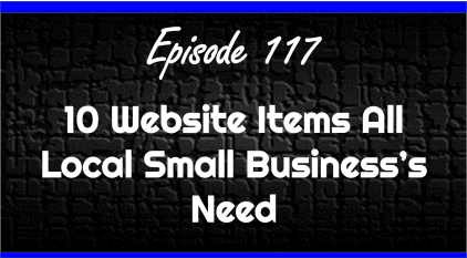 10 Must Have Items on Your Local Small Business Website