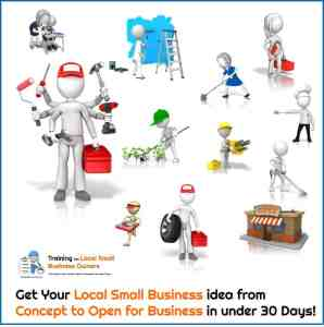 Start a Local Small Business in 30 Days