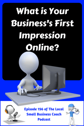 What is Your Business First Impression Online (1)