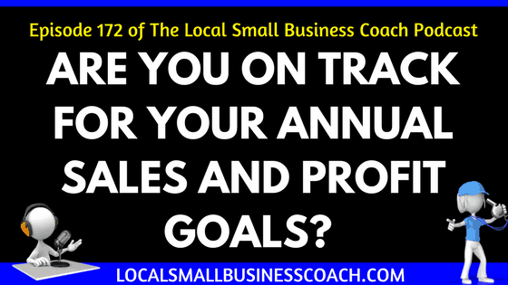 Are You on Track for Your Annual Sales and Profit Goals