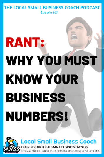 RANT - Why You Need to Know Your Dang Numbers