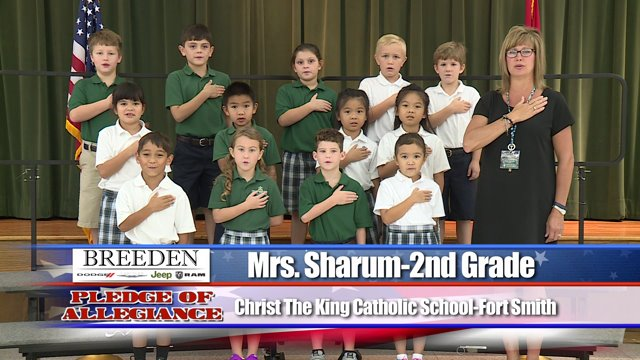 Christ the King Catholic School  Fort Smith  Mrs Sharum  2nd Grade  Fort SmithFayetteville